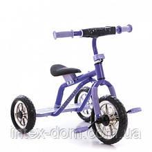 Триколісний велосипед Profi Trike M 0688-1V (Фіолетовий)