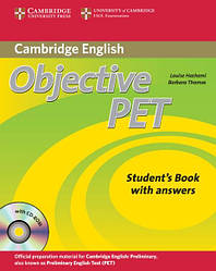 Objective PET Second Edition Student's Book with answers and CD-ROM