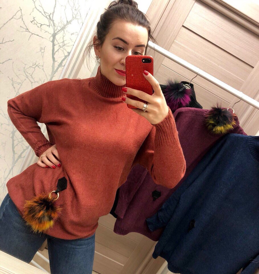 Женский шикарный свитер РАЗНЫЕ ЦВЕТА(Фабричный Китай ) Код 030