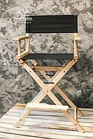 Стул для визажиста, барный стул. Модель Р4 цвет натур.дерева, фото 1