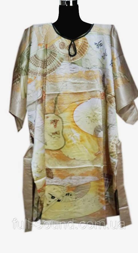 Шелковое кимоно с поясом восток