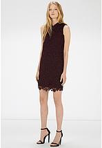 Новое кружевное платье с воротником прямого кроя Warehouse, фото 3