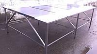 Обвалочный стол усиленный 3000х2000 двухсторонний, фото 1