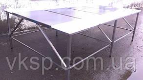 Обвалочный стол усиленный 3000х2000 двухсторонний