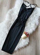 Новое миди платье под пояс Boohoo, фото 2
