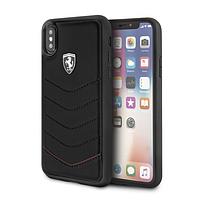 Чехол CG Mobile Ferrari для iPhone X Heritage Genuine Черный (BS-000045695)