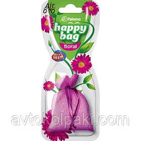 Ароматизатор в авто Цветы Paloma Happy Bag