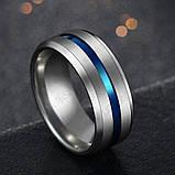 Мужское титановое кольцо обручальное, фото 2