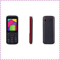 Мобильный телефон Nomi i244 Black-Red на 2 сим-карты