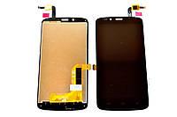 Дисплей (экран) для Huawei Honor 3C Lite Хуавей + тачскрин, цвет черный