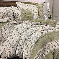 """""""Прованс""""Комплект постельного белья двуспальный 180/220, нав-ки 70/70, ткань сатин, 100% состоит из хлопка"""