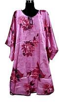 Шелковое платье кимоно