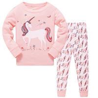 """Пижама для девочки """"Единорог"""" 3t,4t"""