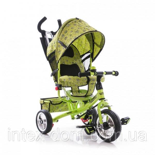 Трехколесный велосипед Profi Trike М 5363-2-1 Eva Foam Зеленый