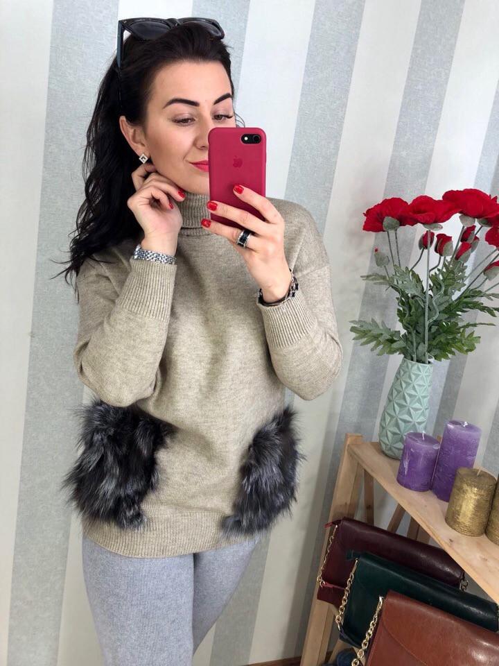 Женский стильный свитер РАЗНЫЕ ЦВЕТА(Фабричный Китай ) Код 0201