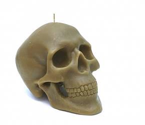 Свеча восковая череп