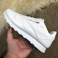 ab6402a1a9f0 Кроссовки Reebok Classic Leather White