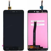 Дисплей (экран) для Xiaomi Redmi 4A ксиоми + тачскрин, черный.