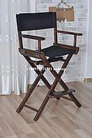 Визажный стул, высокий стул для макияжа, Модель Р2 коричневый, фото 1