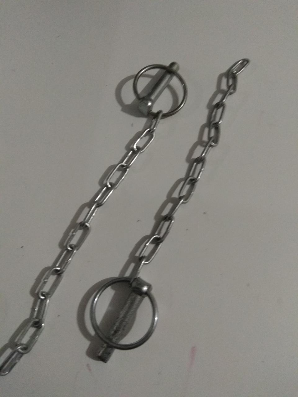 Шплинт 8мм. с кольцом