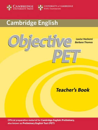 Objective PET Second Edition Teacher's Book, фото 2
