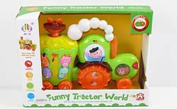 Музыкальный развивающий орган Трактор, звуки животных для малышей, код 598