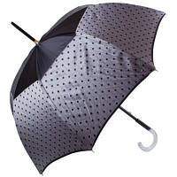 Зонт-трость Guy de Jean Зонт-трость женский механический GUY de JEAN (Ги де ЖАН) FRH-ELEGANTEH1-grey