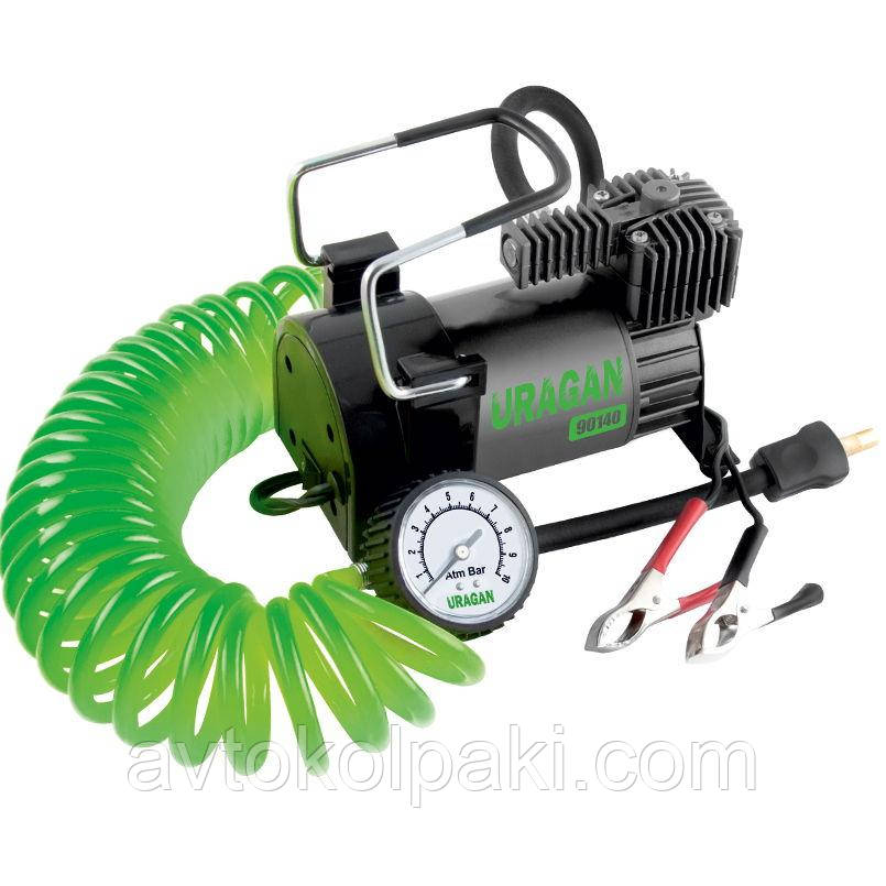 Автомобильный компрессор 90140 Uragan