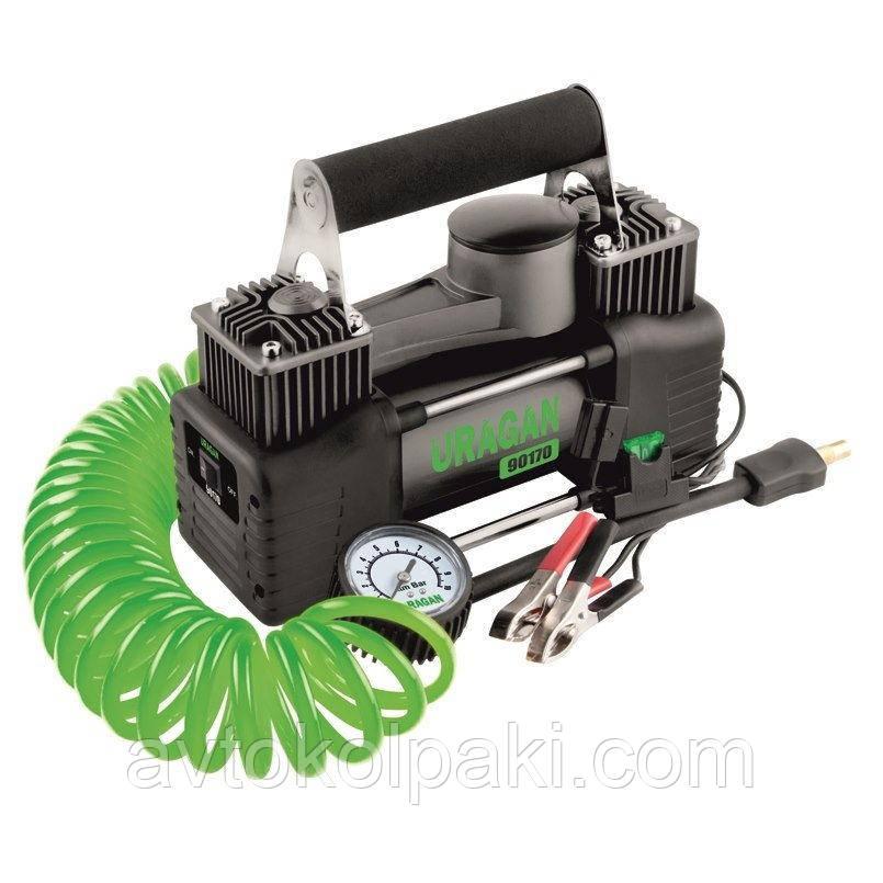 Автомобильный компрессор 90170 Uragan