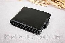 Тонкое классическое чёрное портмоне Braun Buffel 1_658, натуральная кожа, фото 3