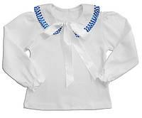 """Блуза для дівчинки """"Мерехтливий комір"""""""