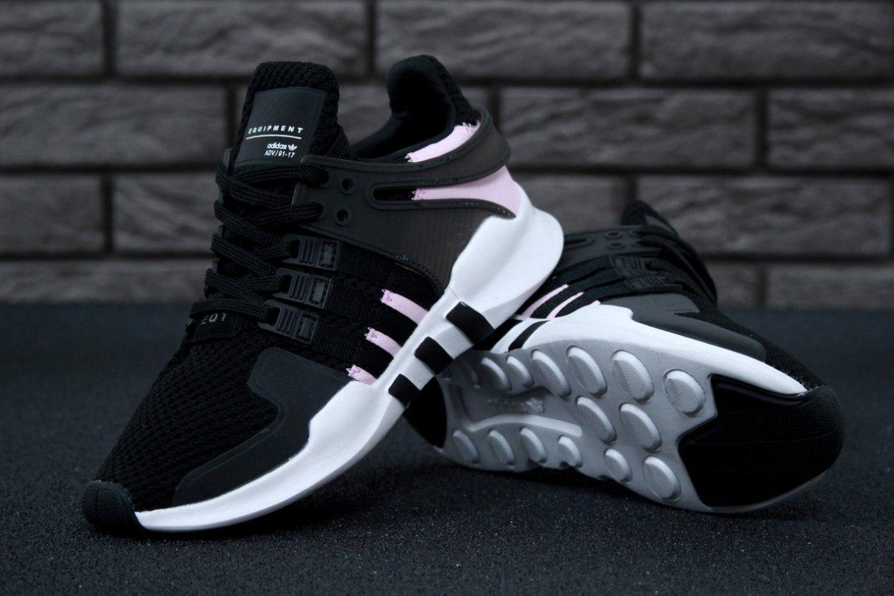 online store f2606 865b7 Женские кроссовки Adidas EQT Support ADV Core Black/Clear Pink