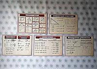 Картонные плакаты для кабинета Математики