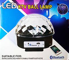 Диско шар + Bluetooth, фото 2