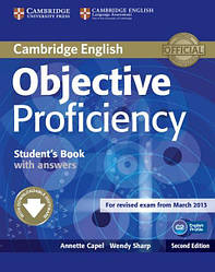 Objective Proficiency Second Edition Student's Book with answers and Downloadable Software