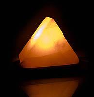 """Соляная лампа """"Треугольник"""" Гималайская соль светильник-ночник"""