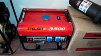 Генератор Pilot 3500,бензин,2.5квт.