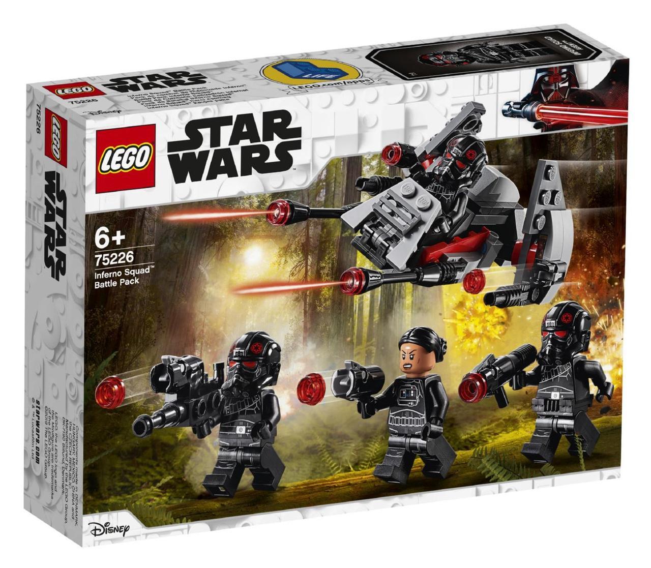 Lego Star Wars Бойовий набір загону «Інферно» 75226