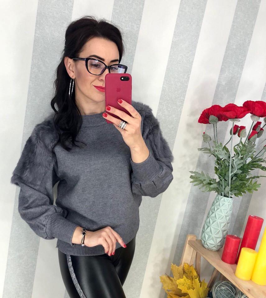 Женский элегантный свитер РАЗНЫЕ ЦВЕТА(Фабричный Китай ) Код 0142