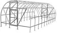 Каркас теплицы 3х6х2 м (ширина, длина, высота) под поликарбонат
