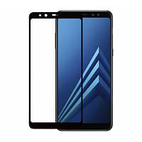 Защитное стекло Neo 5D для Samsung A730 (A8 Plus-2018) Black (211109)