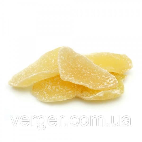 Имбирные цукаты Листья 100г