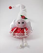 Кукла Эльф Новогодний Ангелочек на бубенчике
