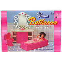 Кукольная мебель Gloria Ванная Комната 94013