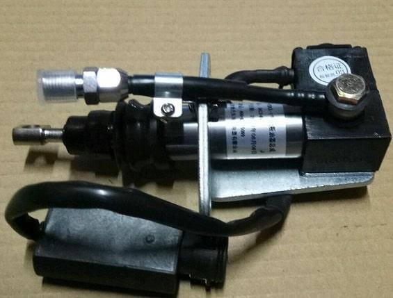 Электроклапан (реле) остановки двигателя FAW СА3252 (Фав 3252) 3735025-263, фото 2
