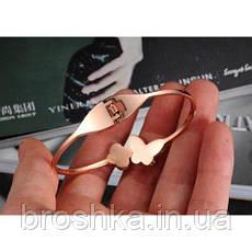 Стальной позолоченный браслет, фото 2