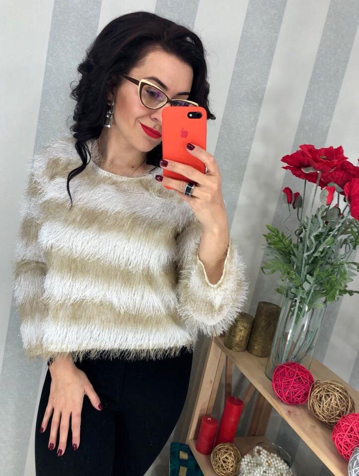 Женский очаровательный свитер РАЗНЫЕ ЦВЕТА(Фабричный Китай ) Код 0157