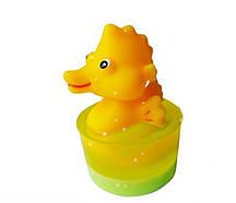 Глицериновое детское мыло Морской конек / Большая игрушка, 80 г