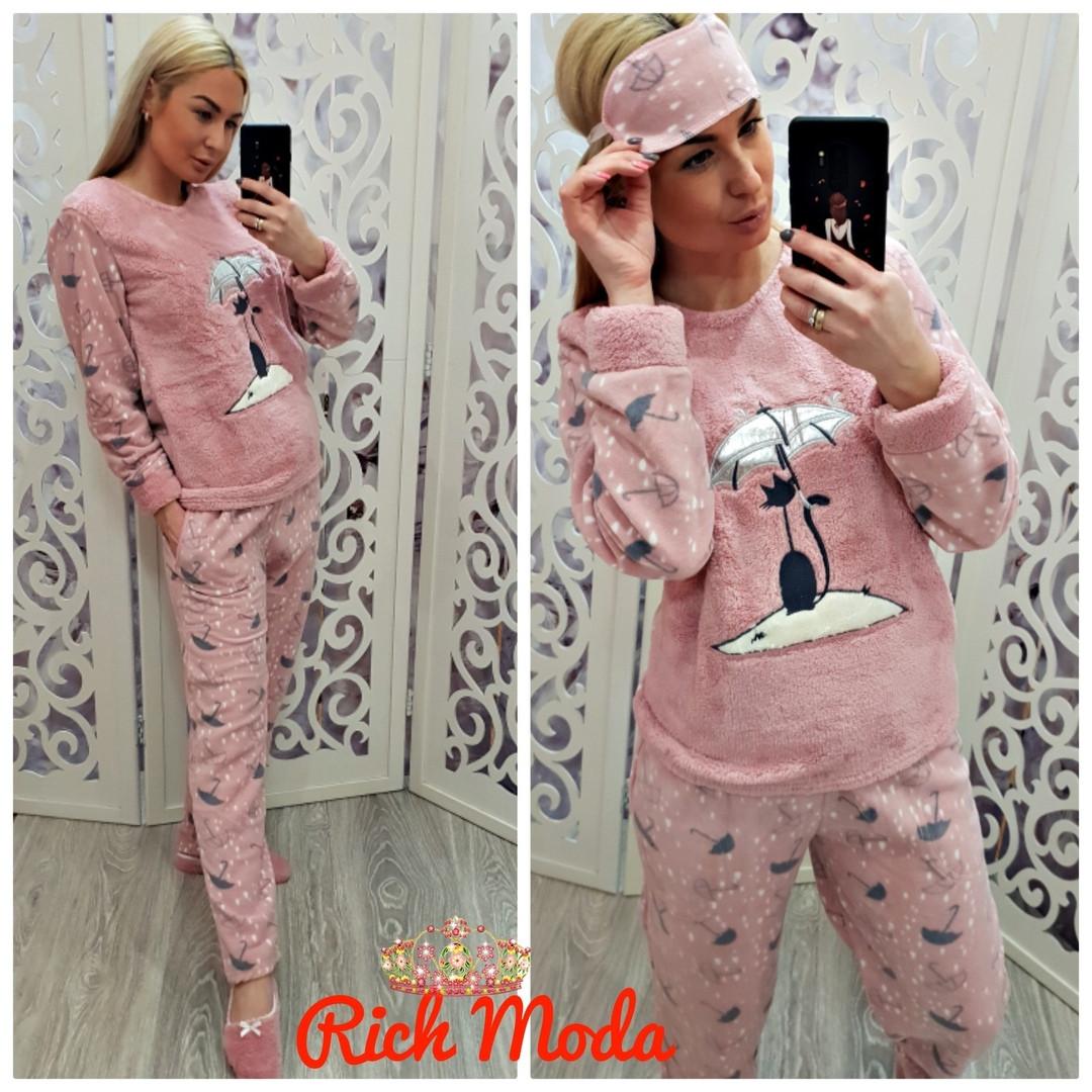 34a7183a6ce8 Тёплая женская пижама на зиму Турция LA-4280 — купить недорого в ...