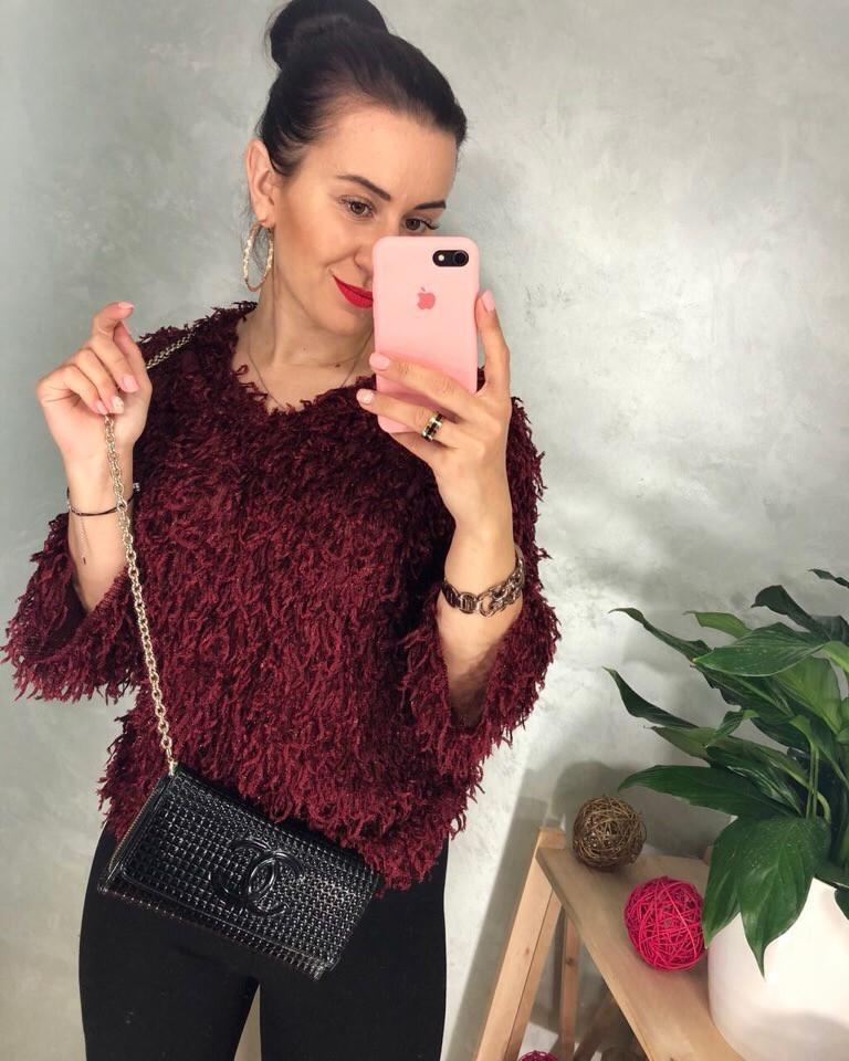 Женский модный свитер РАЗНЫЕ ЦВЕТА(Фабричный Китай ) Код 0155